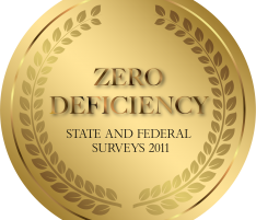 University Earns 2011 Zero Deficiency Survey
